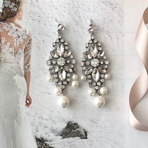 Jewelry - Pearl Statement Earrings